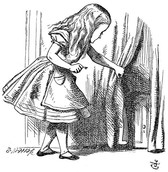 Sir John Tenniel illustration from the first edition of Lewis Carroll's Alice's Adventures in Wonderland (1865)